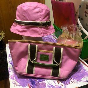 Coach Hamptons Mini tote and Bucket hat